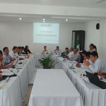 Consejera presidenta del Ieqroo, rinde informes sobre la bodega electoral para el resguardo para el resguardo de documentación y material electoral