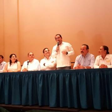 """Refrenda PRD Q. Roo compromiso con la alianza """"Por México al frente"""""""