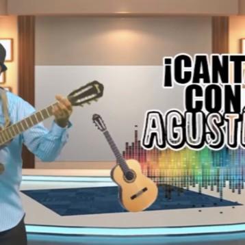 """""""CANTA CON AGUSTÍN"""", programa del trovador cubano Agustín García, tiene como invitado a Carlo"""