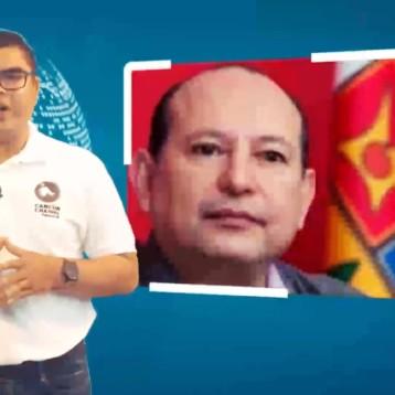 MARIO MACHUCA SUPLENTE DE RAYMUNDO KING PARA EL SENADO