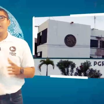 PERSONAS SOSPECHOSAS SON DETENIDAS CERCA DE LA PGR