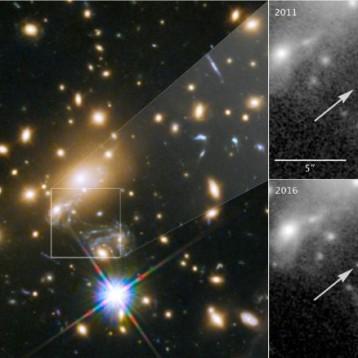 El Telescopio Espacial Hubble descubre la estrella individual más lejana jamás vista