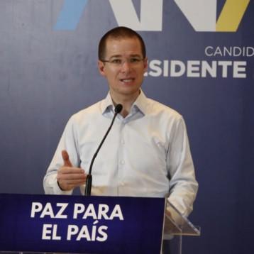 Anaya dispuesto a debatir 'cara a cara' con López Obrador