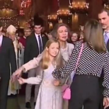 La reina Letizia y doña Sofía arman berrinche