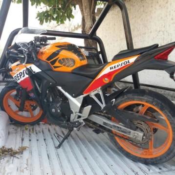 Motocicleta robada en Cancún aparece en comunidad de OPB