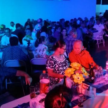 Cena baile del 48 aniversario de Cancún