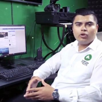 Alexander Montejo Coordinador de redes sociales