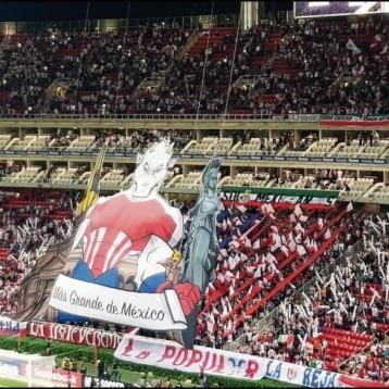 """Apoyo absoluto al Guadalajara """"El más grande"""""""