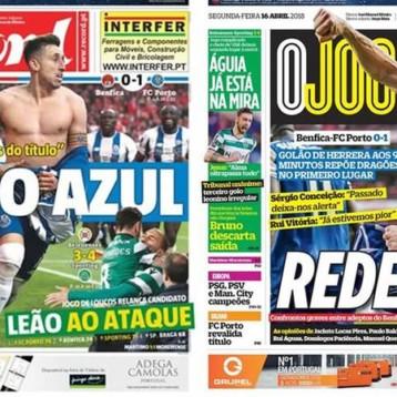 Héctor Herrera se roba las portadas de la prensa en Portugal