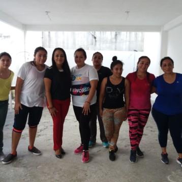 Productiva visita a las 68 reclusas de la cárcel de Cancún