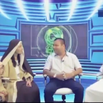 Entrevista representativa a Jesús y María previo al Viacrucis