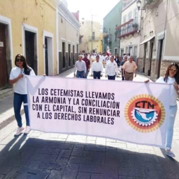 Seguridad, tema de marcha del Día del Trabajo en Guanajuato
