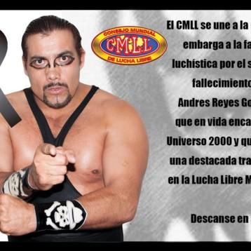 Fallece legendario luchador mexicano Universo 2000 a los 55 años, el menor de los 'Dinamita'
