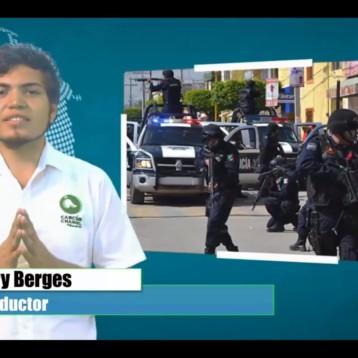 DETIENEN A 5 PERSONAS POR PORTACIÓN DE ARMA DE FUEGO