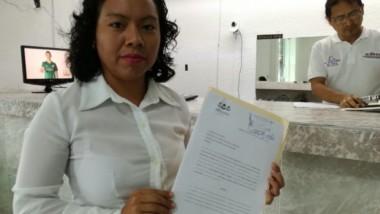 Denuncia Trini Guillén uso de publicidad electoral falsa en su contra