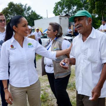 Acercan servicios de salud a comunidades rurales de la zona limítrofe: Alejandra Aguirre Crespo