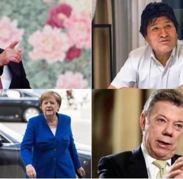 Presidentes en Europa y Latinoamérica dan la bienvenida a AMLO