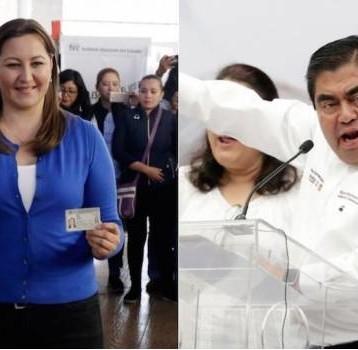 PREP aventaja a Martha Erika de Barbosa con 3 puntos en Puebla
