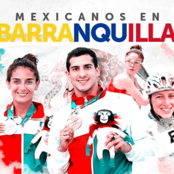México está a 10 medallas de llegar a las 200 en los Juegos Centroamericanos