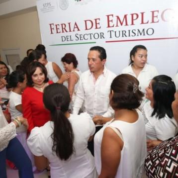 Más empleos y mejor pagados contribuyen al desarrollo económico y social de Quintana Roo: Carlos Joaquín