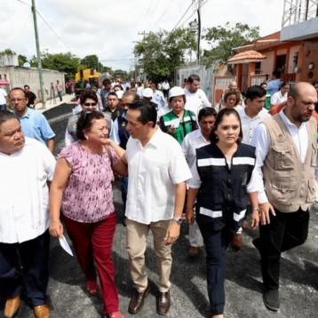Se contribuye a disminuir la desigualdad con calles nuevas en colonias populares de Chetumal: Carlos Joaquín
