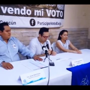 Conferencia de prensa de la Coparmex sobre la apertura de casillas