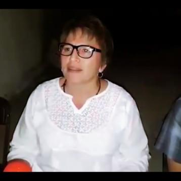 "Laura Beristain, candidata de ""MORENA"" se declara triunfante"