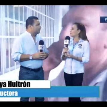 Seguimiento de la jornada electoral 2018 con los periodistas Jonathann Estrada y Soraya Huitrón