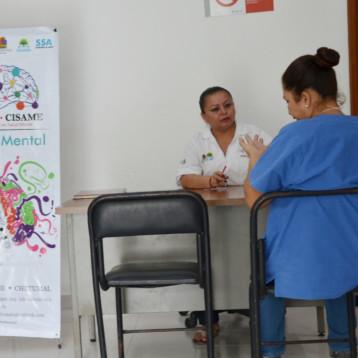 A través de la SESA, se garantizan servicios de salud mental