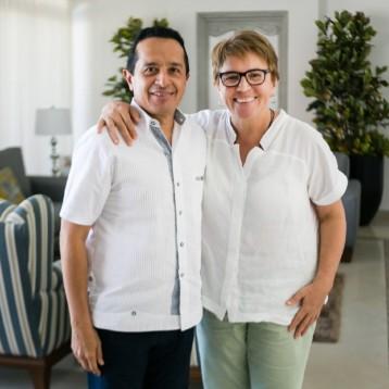 Sostiene Laura Beristain productiva reunión de trabajo con el gobernador Carlos Joaquín González