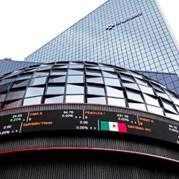 Bolsa mexicana abre a la baja; Wall Street cierra por feriado en EU