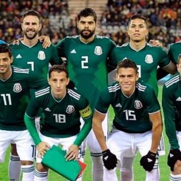 México utilizará su uniforme verde ante Brasil en octavos de final