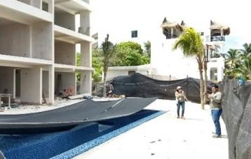 Clausura PROFEPA proyecto inmobiliario en Akumal, municipio de Tulum, Quintana Roo