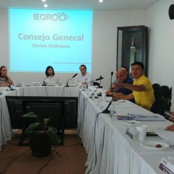 El consejo general del IEQROO determinó desechar diversas quejas presentadas ante este instituto por improcedentes.