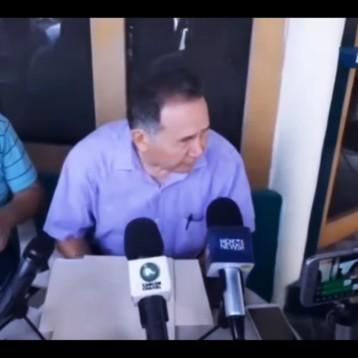 Conferencia de prensa de José Luis Pech Várguez, senador electo por Morena en Quintana Roo