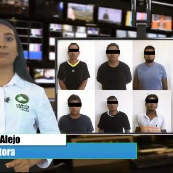 GOLPE AL CRIMEN ORGANIZADO EN CANCÚN CAPTURAN SICARIOS Y ASEGURAN ARMAS, AUTOS Y CARTUCHOS