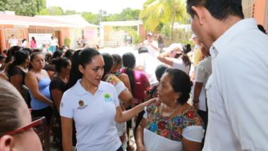Con jornadas médicas, la Secretaría de Salud  acerca servicios a comunidades rurales: Alejandra Aguirre Crespo