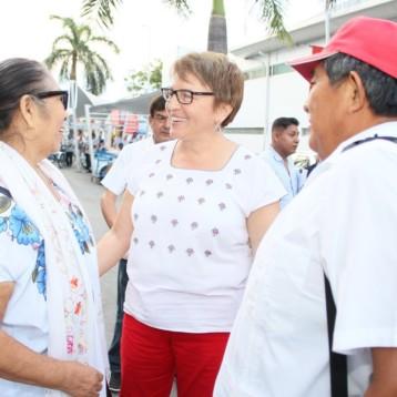 Existen condiciones para cumplir con los compromisos hechos ante la ciudadanía: Laura Beristain