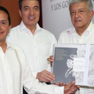 La construcción del Tren Maya significa más y mejores oportunidades para el desarrollo económico de la gente de Quintana Roo: Carlos Joaquín
