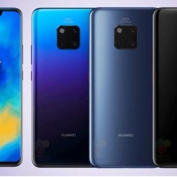 Filtran todas las novedades de los Huawei Mate 20 y la potencia real del Kirin 980