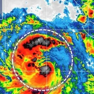 """""""Rosa"""" podría impactar hoy en Baja California como huracán 1"""