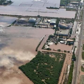 Lluvias dejaron bajo el agua a 69 por ciento de Sinaloa