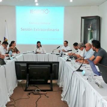 Aprueban calendario del proceso electoral local ordinario 2018-2019 para la elección de los Diputados locales.