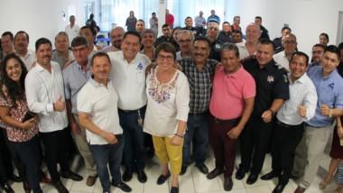 Seguridad Pública y Comerciantes acuerdan trabajar en unidad