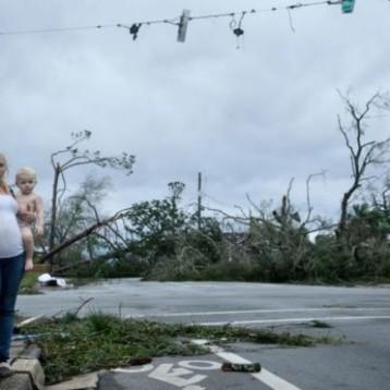 """Huracán Michael: el rastro de destrucción que dejó el """"infernal"""" huracán Michael en Florida"""