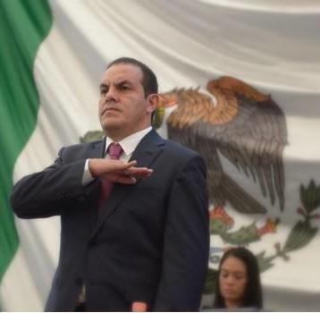 Cuauhtémoc Blanco ya es gobernador de Morelos