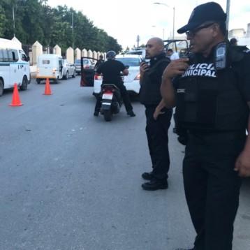 Policía municipal refuerza vigilancia en colonias Playa del Carmen