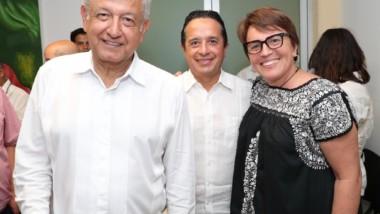 En Solidaridad iniciará la cuarta transformación del sureste mexicano: Laura Beristain
