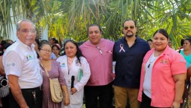 """En el marco del mes de la mujer, se inaugura campaña contra el Cancer """"Date una mano"""""""