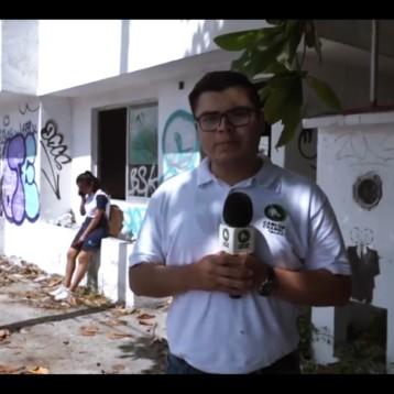 AYER CASETAS POLICIACAS, HOY REFUGIO DE MALEANTES Y FOCOS DE INFECCIÓN